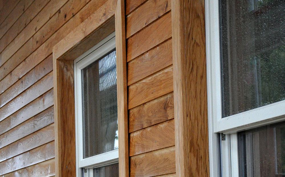 Wohnhaus mit eichenholzfassade - Vrogum fenster ...